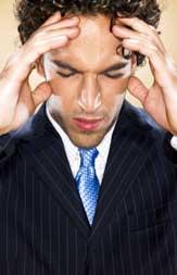 职业男性的五大典型烦恼