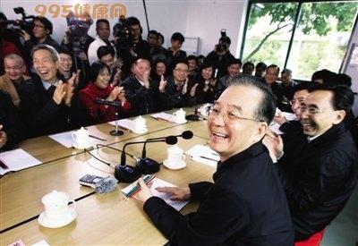 温家宝广东重提小平讲话:不改革开放死路一条